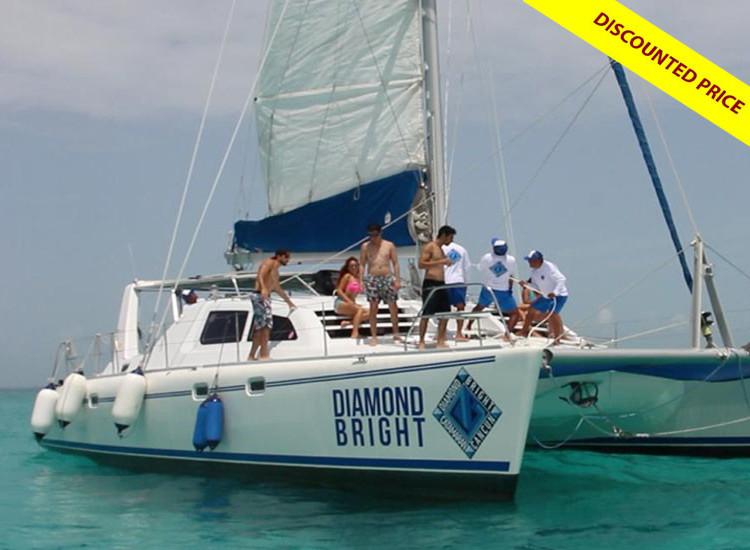 Diamond Bright Isla Mujeres Catamaran